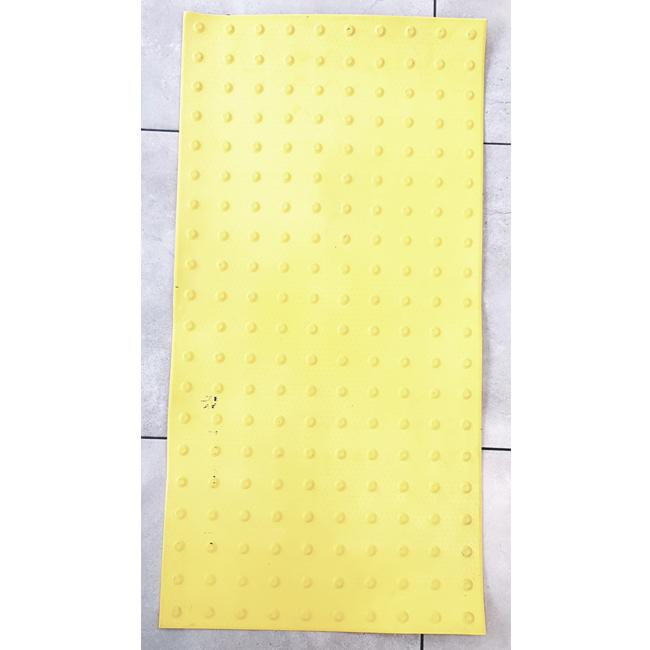 """משטח אזהרה PVC צהוב 120X60 ס""""מ"""