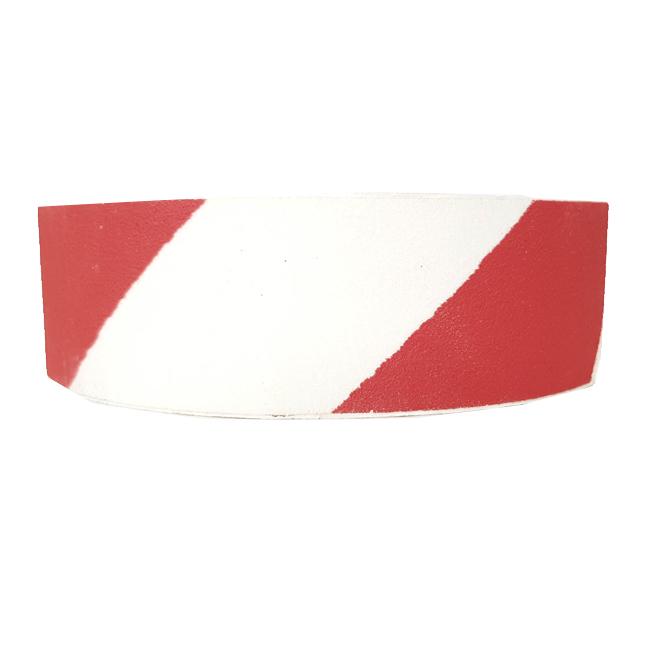 פס למניעת החלקה אדום לבן